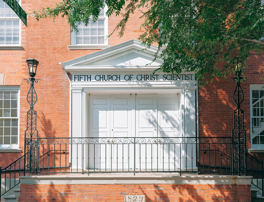 Fifth Church Entrance